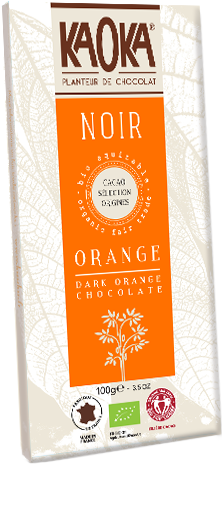 Organic Fair Trade Dark Chocolate Orange KAOKA