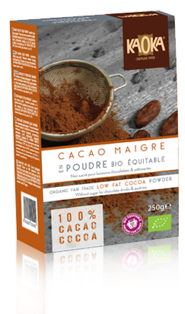 low fat cocoa powder organic fair trade