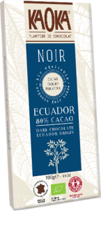 Organic fair trade ecuador dark chocolate