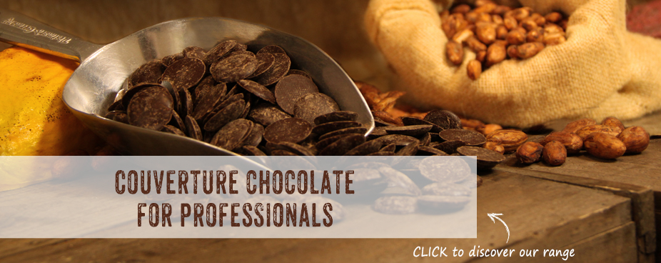 Organic Chocolate Couverture for professionals