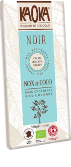 Dark Chocolate Coconut Organic Fairtrade KAOKA