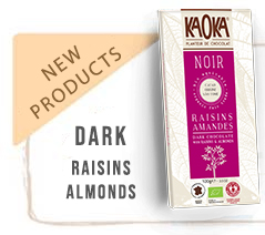 Dark Organic Chocolate Raisins Almonds