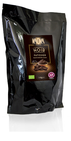 Chocolate Chips Dark 55% Organic Faitrade KAOKA